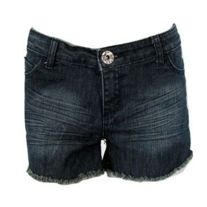 Parasuco Denim Cut Off Shorts Size 28